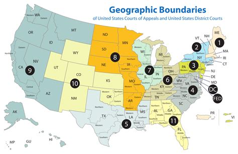 united states district courts california map united states courts of appeals