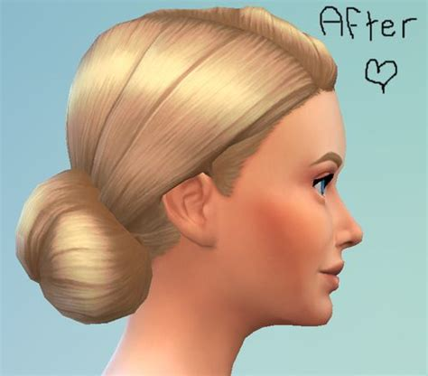 hair bun download 123 best images about sims4 cc hair on pinterest bobs