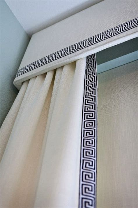 trims for curtains greek key drapery trim design ideas