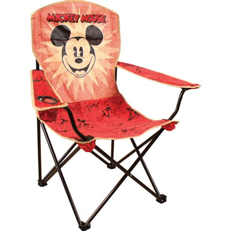 Mickey Mouse Chair by Disney Mickey Mouse Folding Chair With Arm Rest