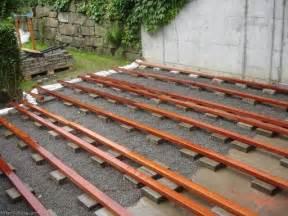Dachterrasse Auf Garage Bauen boden f 252 r dachterasse auf garage selbst de