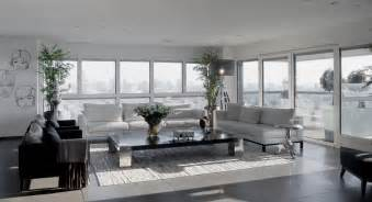 home interior themes modern white and gray apartment interior design by