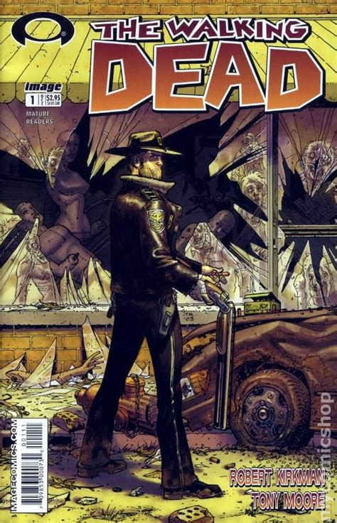 walking with your books walking dead 2003 image comic books