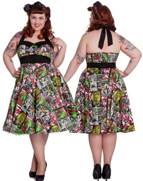 hell bunny swing dress b movie rockabilly swing dress by hell bunny dresses
