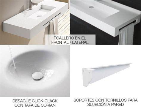 lavabos corian lavabo a medida en corian square ba 241 os de autor