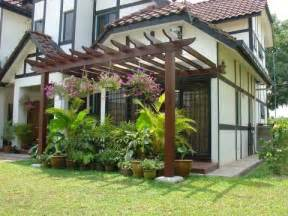 Attached Pergola Ideas by Attached Pergola Designs Think Inspired Home