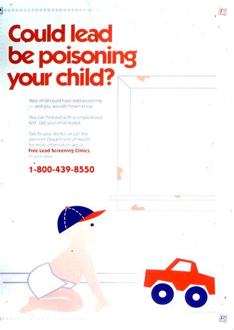 visual culture environmental health lead poisoning