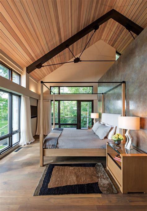rustic meets modern  gleason lake home house house