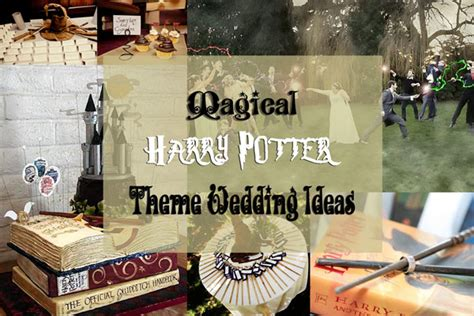 theme exles in harry potter 5 best harry potter wedding ideas gamers sphere