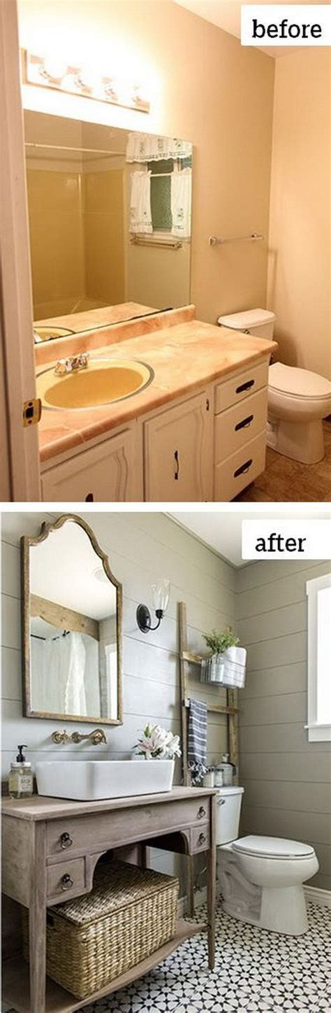 Bathroom Remodeling Ideas Before And After bedroom cottage style bathrooms diy home renovations before and after