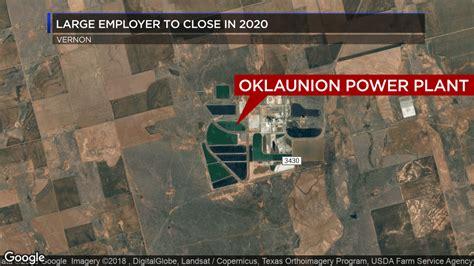 oklaunion power station  close  mid