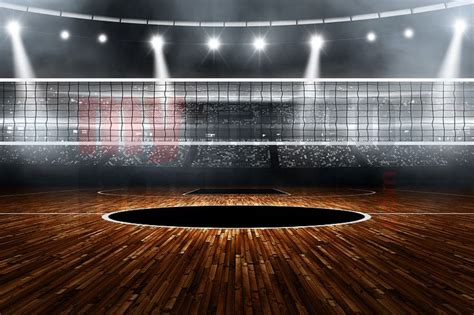 volleyball templates for photoshop digital background volleyball stadium horizontal
