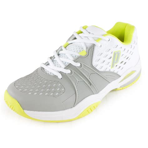 white tennis shoes prince s warrior tennis shoes white and gray ebay
