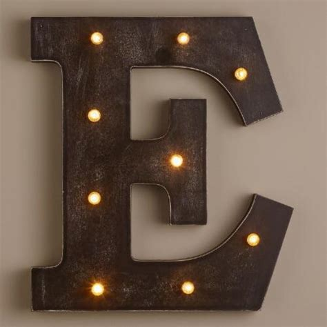 lettere a led letter e led battery operated marquee light world market