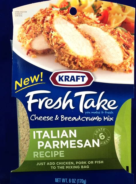 ten fresh takes books kraft fresh take italian parmesan recipe flavor review