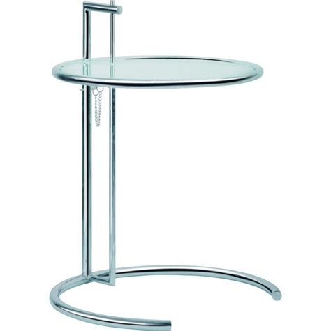 Eileen Grey Table by Eileen Gray Inspired Side Table