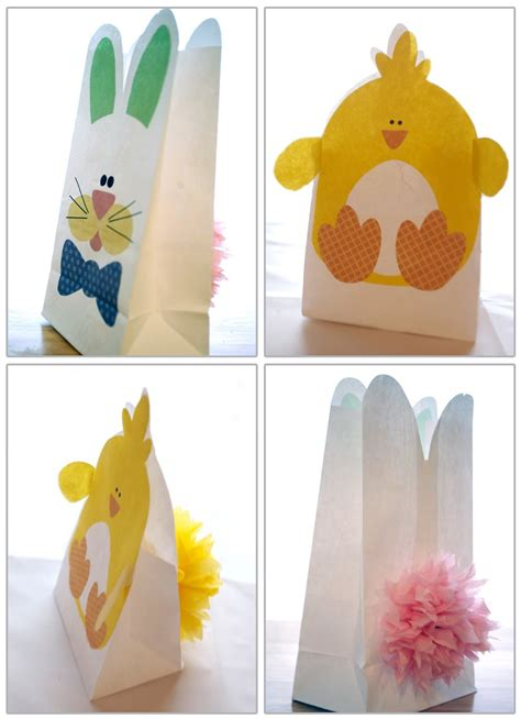 paper bag easter baskets related keywords paper bag