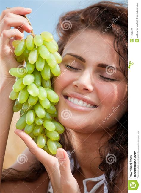 ate grapes grapes in wheat field picnic stock photo image 17393730