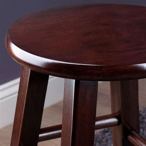 24 Inch Wood Counter Stools by 24 Inch Pacey Counter Stools Set Of 2 In Wood Bar Stools