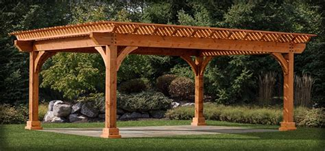 Attached Garage Designs Concord Pergola Homeplace Structures