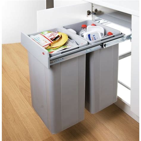 Kitchen Garbage Cans Built In 25 Best Ideas About Contemporary Recycling Bins On