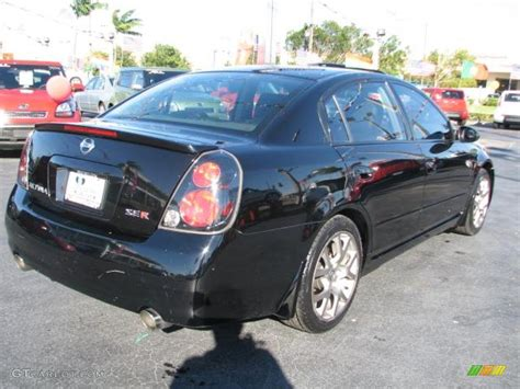 nissan altima black 2006 super black 2006 nissan altima 3 5 se r exterior photo