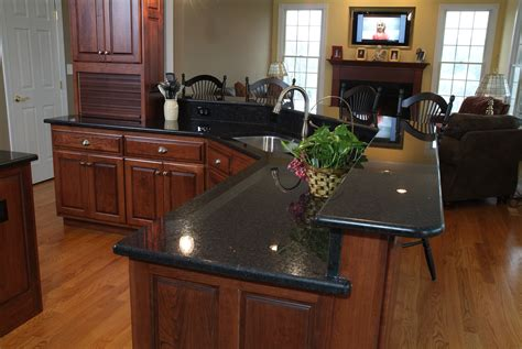 Black Granite Countertop by Furniture Used A Corian Solid Surface Material For Remodel Your Counterops Are Highly