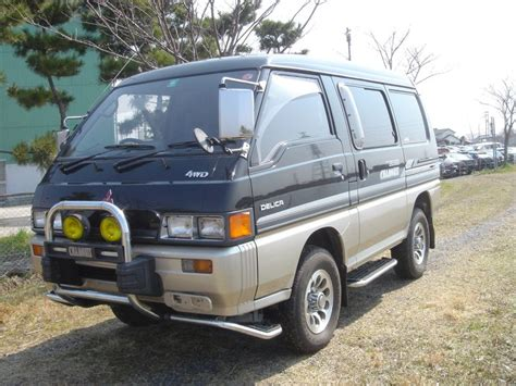 mitsubishi wagon 1990 mitsubishi delica wagon star wagon 1990 used for sale