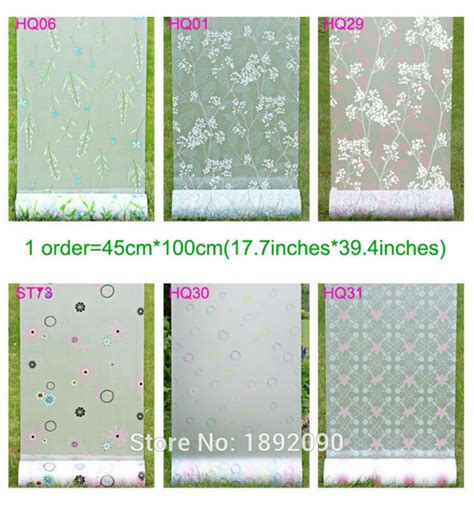 bedroom window tint film 45cm 100cm privacy stained glass window film opaque etched
