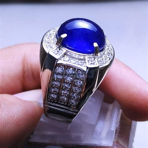 Permata Sapphire cincin permata blue sapphire elegance banget
