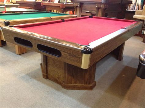 sold pre owned brunswick 130 anniversary 8ft pool table