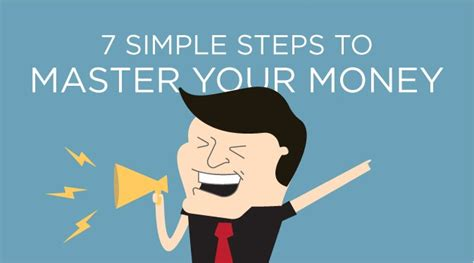 7 simple steps to master your money