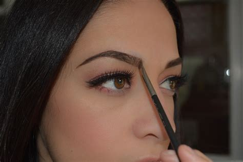 how to soften hair on eyebrows and get them to lay down beauty filling in your eyebrows