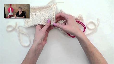Knitting Help Mattress Stitch