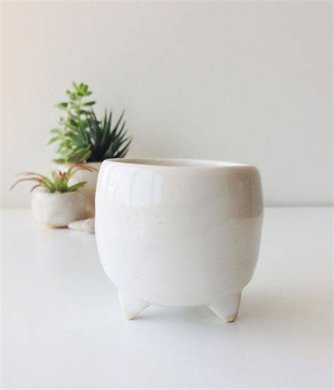 Planter With Legs by Handmade Quot Planter White With Legs Quot Flower Vase