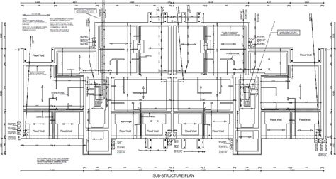 technical floor plan technical