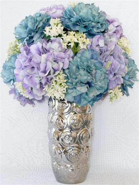 Artificial Flower Vases by Best 25 Silver Vases Ideas On Royal Blue