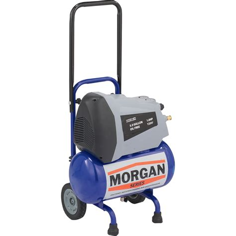 series reconditioned portable horizontal air compressor 5 5 gallon 2 9 cfm model