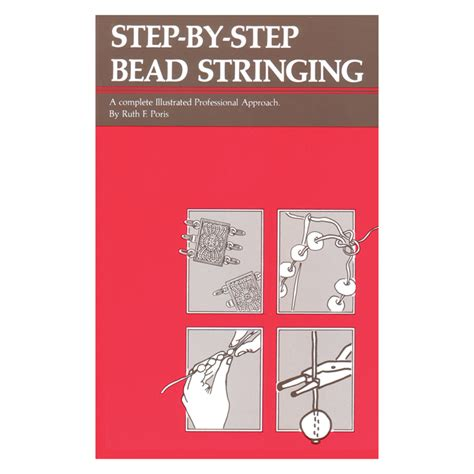 step by step beading step by step bead stringing