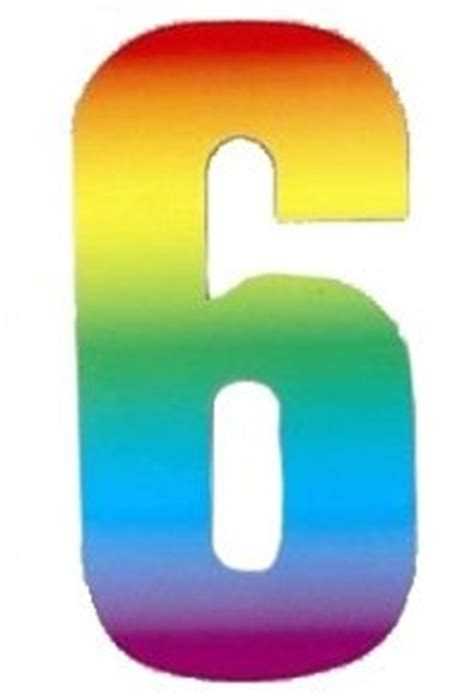 Gift Card Bin Numbers - rainbow wheelie bin number stickers number 6 amazon co uk kitchen home