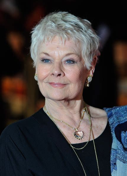 show back of judy dench hairstyle judy dench hairstyle front and back