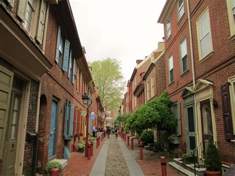 oldest in philly elfreth s alley philadelphia deano in america
