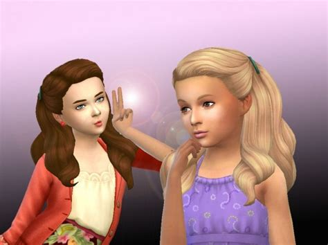 sims 4 female child hair 46 best maxis match sims cc child images on pinterest