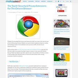 best chrome privacy extensions chrome browsers pearltrees