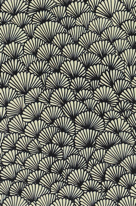pattern design black zentangle