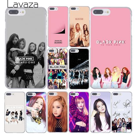 lavaza black pink blackpink kpop collage phone cover case  apple iphone  xr xs max