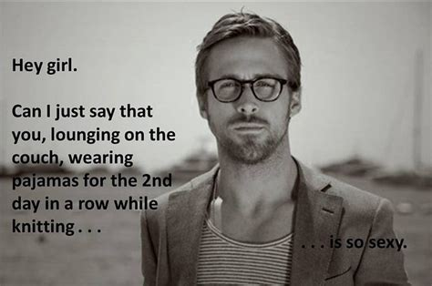Knitting Meme - 12 ryan gosling knitting crochet memes
