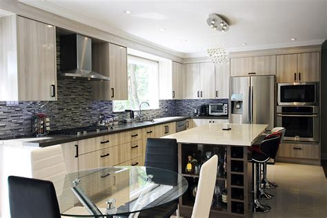 European Kitchens Toronto by Toronto And Thornhill Custom Modern Kitchen Design