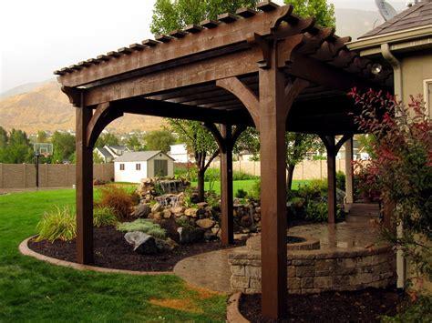 atkinson pergola western timber frame