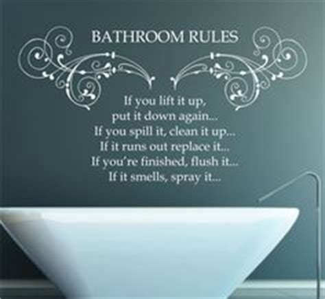 Bathroom Quotes by Bathroom Wall Sayings On Bathroom Wall Quotes